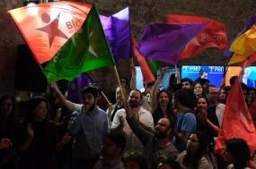 Bloco de Esquerda afirma-se como a terceira força política mais votada, duplica o número de mandatos e passa de 4,56% para 9,82% - Foto Paula Nunes