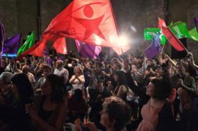 Noite eleitoral do Bloco nas europeias 2019 em Lisboa.