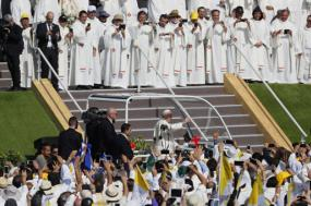 Visita do papa Francisco ao Chile em janeiro de 2018.