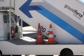 Veículo da Groundforce. Agosto de 2008.