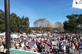 Centenas manifestam-se contra Centro de Resíduos na Figueira da Foz