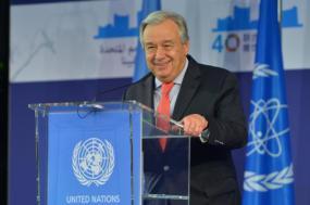 """Recandidatura de Guterres à ONU é """"uma boa notícia"""", diz Catarina"""