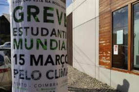 Em Portugal, haverá greves em pelo menos 16 cidades. Foto de Climáximo.