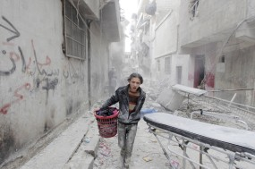 O desespero e o sofrimento na cidade síria de Alepo. Foto RT