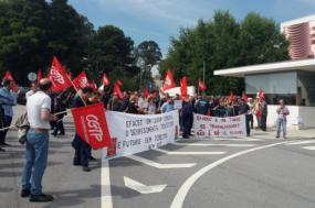 Trabalhadores da Efacec exigem reintegração de despedidos – Foto Site Norte