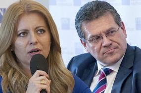 A centrista Zuzana Čaputová e o independente pró-governamental Maroš Šefčovič disputam a segunda volta das eleições presidenciais na Eslováquia