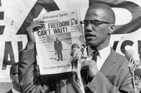 Malcolm X foi assassinado em 21 de fevereiro de 1965