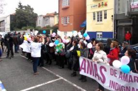 Concentração das amas da Segurança Social à porta do Instituto de Segurança Social no Porto – outubro de 2014. Foto de Precários Inflexíveis