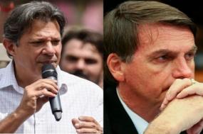 Bolsonaro teve 49.276.990 votos (46,03% dos válidos); o segundo lugar, Fernando Haddad, obteve 31.342.005 (29,28% dos válidos). É muito difícil reverter este resultado, mas não é impossível