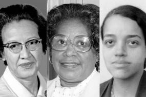 Katherine Johnson, Mary Jackson e Dorothy Vaughan.