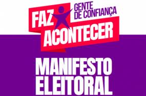 Candidatos com deficiência apresentam manifesto eleitoral