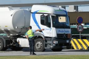 Greve dos motoristas de matérias perigosas