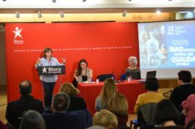 Catarina Martins apresentou três propostas essencais para uma boa lei de bases da saúde