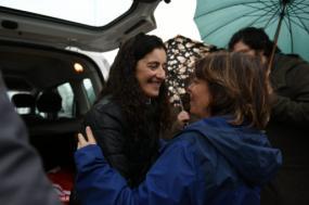 Catarina Martins apelou a uma onda de solidariedade com Cristina Tavares - Foto de Paula Nunes