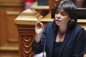 """""""Temos que exigir que a Caixa sirva o interesse público"""", defende Catarina Martins"""