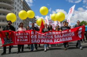 Manifestação da CGTP no passado dia 9 de junho - Foto de José Sena Goulão/Lusa