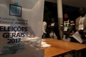 A Comissão Nacional Eleitoral de Angola divulgou os resultados provisórios da votação das eleições gerais de 23 de agosto. Foto de Manuel de Almeida, Agência Lusa.