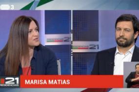 Marisa Matias e João Ferreira