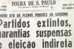 Governo militar brasileiro do General Costa e Silva editou o AI-5 no dia 13 de dezembro de 1968