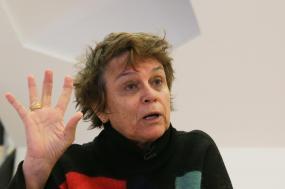 Catarina Vaz Pinto, Veradora da Cultura da Câmara Municipal de Lisboa. Foto de Inácio Rosa, Lusa.