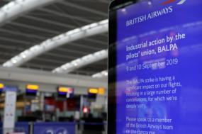 Greve na British Airways.