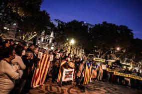 Em Lisboa gritou-se pela liberdade dos presos políticos catalães