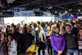 Protesto na Google por medidas de combate ao assédio sexual