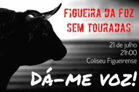 Cartaz do movimento Figueira Sem Tourada