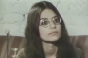 Shulamithy Firestone numa entrevista em 1969. Fonte: Hezakia Newz/babyradfem_tv/YouTube.