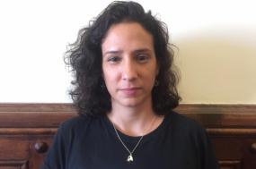 Mônica Benício é ativista pelos direitos humanos e viúva de Marielle Franco