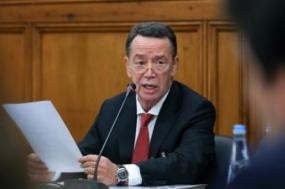 Manuel Pinho na comissão parlamentar de inquérito às rendas de energia. Foto António Cotrim/Lusa