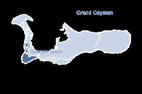 A sucursal da CGD nas Ilhas Caimão está em George Town. Fonte: www.cgd.pt
