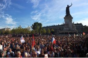 150 mil pessoas terão participado na marcha organizada pela França Insubmissa