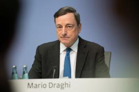Mario Draghi anunciou a manutenção das taxas de juro zero até final do ano e o prolongamento do financiamento barato aos bancos – Foto ECB/flickr