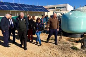 Na manhã deste domingo, a Coordenadora Nacional do Bloco e o deputado João Vasconcelos visitaram a Estação Piloto de Piscicultura de Olhão (EPPO), no Algarve. Foto de Esquerda.net.