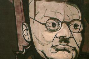 José Orozco, mural feito por Siqueiros e exposto na Cidade do México – Imagem wikipedia