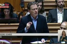 Pedro Soares disse que o governo português pediu informação e que as autoridades espanholas mais uma vez não accionaram o mecanismo de avaliação ambiental partilhada