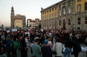 Porto: Protesto contra acórdão machista - Foto de Andrea Peniche