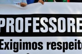 """""""O tempo é de luta porque 2017/2018 terá de ser tempo de resolver problemas"""", declarou Mário Nogueira em conferência de imprensa - Foto de Paulete Matos"""