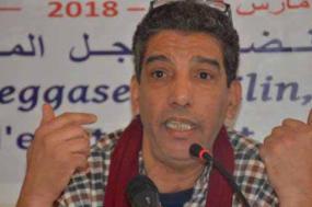 Mahmoud Rechidi, secretário geral do PST da Argélia
