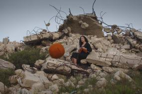 Penelope, fotografia de Raeda Saadeh (2010).