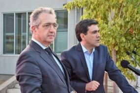 Ribeiro e Castro, candidato à Assembleia Municipal de Sintra e Marco Almeida, candidato à Câmara Municipal. Foto Bloco.org