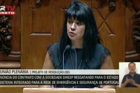 """A deputada Sandra Cunha salientou que o Siresp tem sido orientado """"mais pelo negócio do que pelo serviço de proteção e segurança às populações"""""""