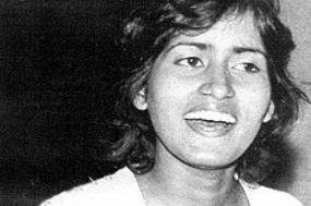 Sita Valles; assassinada sem que lhe fosse dada a mínima oportunidade de defesa