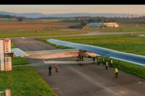 As asas são quase do tamanho das do Airbus A380. Foto de Solar Impulse/Divulgação