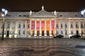 Teatro D. Maria II. Fotografia de Nan Palmero