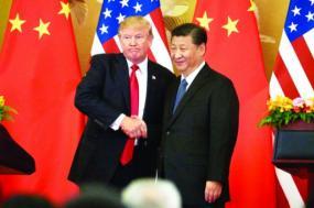 Donald Trump e Xi Jinping realizaram uma cimeira em abril de 2017