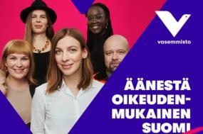 """Sob a liderança da jovem Lil Andersson, a Aliança de Esquerda, que participa na Plataforma """"Agora, o Povo"""", teve uma subida e obteve 8,2% e 16 lugares"""