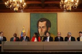 Governo da Venezuela assinou acordo com quatro partidos minoritários da oposição