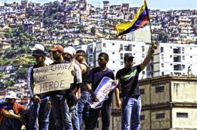 Ser chavista hoje não significa necessariamente apoiar Maduro. Foto de subcomunicad\u262dr, licença Creative Commons